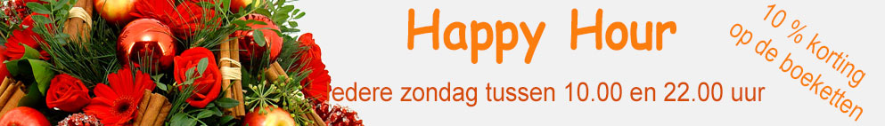 Happy Hour zondag