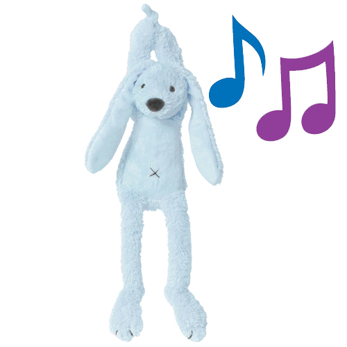 Geboorte knuffels - Blue Rabbit Musical