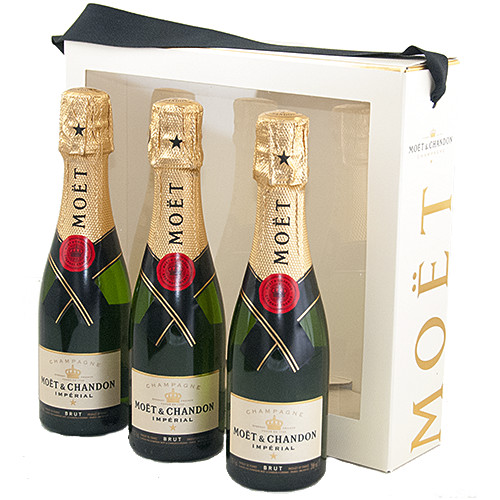 Kerst Wijn-Champagne - Moët & Chandon Piccolo gift box