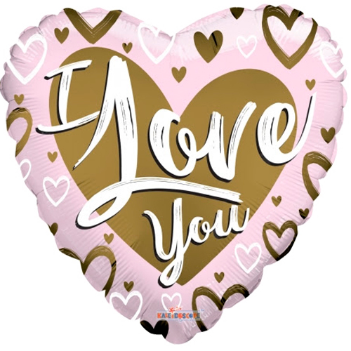 I love you goud/roze